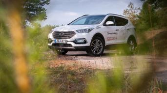 Atnaujintas trečios kartos Hyundai Santa Fe/Vytauto Pilkausko nuotrauka