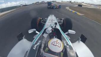 Ken Block vs Lewis Hamilton