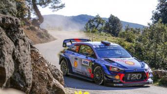 Korsikos ralis/Hyundai Motorsport nuotrauka