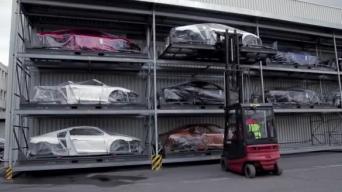 Kur gimsta Audi R8