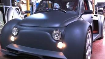 Fiat 500 su Lamborghini varikliu