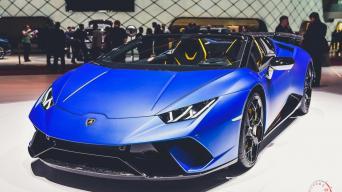 Lamborghini Huracan Performance Spyder/V. Pilkausko nuotrauka