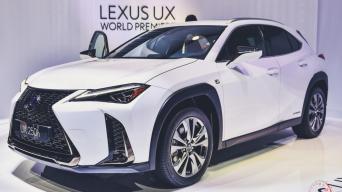 Lexus UX/Vytauto Pilkausko nuotrauka