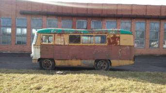 Kaune gamintas autobusas KAG/Asociacijos Retromobile nuotrauka