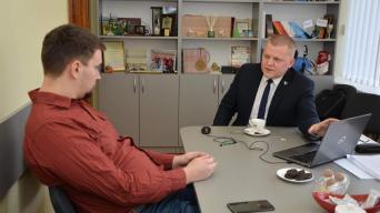 Linas Ramoška ir Dainius Gaižauskas/Dainiaus Gaižausko biuro nuotraukas