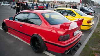 BMW E36 susitikimas