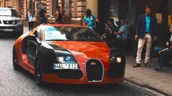 Bugatti Veyron kopija