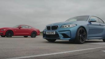 BMW M2 vs Ford Mustang