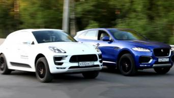 Macan vs F-Pace