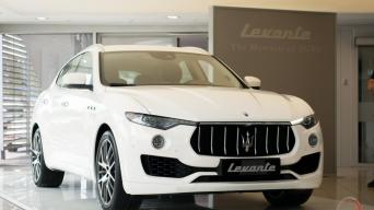 Maserati Levante/Vytauto Pilkausko nuotrauka