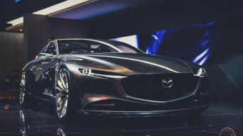 Mazda Vision Coupe/Vytauto Pilkausko nuotrauka