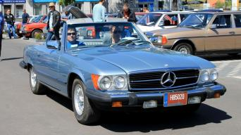 Mercedes-Benz renginys/Organizatorių nuotrauka nuotrauka