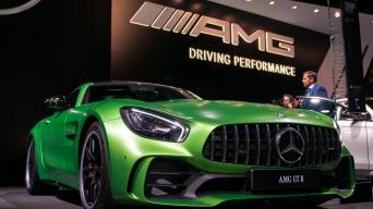 Mercedes-AMG GT R/Vytauto Pilkausko nuotrauka
