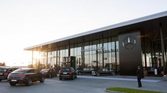 Mercedes-Benz centras Klaipėdoje/Algirdo Venskaus nuotrauka