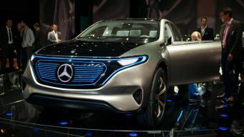 Mercedes-Benz EQ Concept/Vytauto Pilkausko nuotrauka