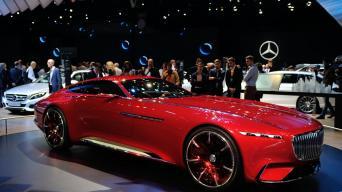Vision Mercedes-Maybach 6/Vytauto Pilkausko nuotrauka