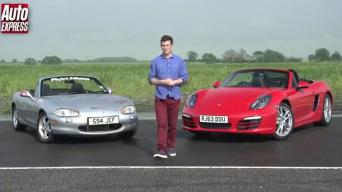 "Ar ""Mazda MX-5"" gali įveikti ""Porsche Boxster""?"