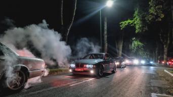 Klaipėda Night Ride/Modesto Fokino nuotrauka