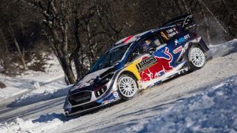 Monte Karlo ralis/Jaanus Ree-Red Bull Content Pool nuotrauka