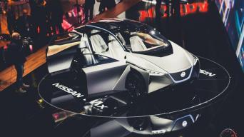Nissan IMx KURO/Vytauto Pilkausko nuotrauka