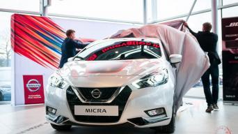 Nissan Micra pristatymas/Vytauto Pilkausko nuotrauka