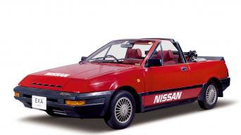 Nissan Pulsar EXA Convertible