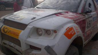 Dakaro ralis 2013: tryliktas etapas