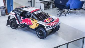 Peugeot 3008 DKR/Gamintojo nuotrauka