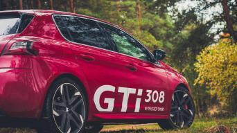 Peugeot 308 GTi/Vytauto Pilkausko nuotrauka