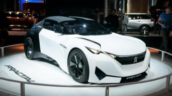 Peugeot Fractal/Vytauto Pilkausko nuotrauka