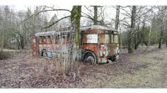 "Pirmasis troleibusas/Foto asoc. ""Retromobile"""