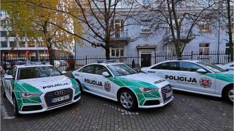 Audi A6/Lietuvos policija