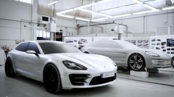 Porsche Panamera Sport Turismo kūrimas