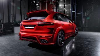 Porsche Cayenne Turbo Techart/Gamintojo nuotrauka