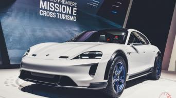 Porsche Mission E Cross Turismo/Vytauto Pilkausko nuotrauka