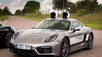 Porsche Driving Academy/Vytauto Pilkausko nuotrauka