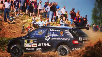 Rally Talsi 2017/Edgaro Buiko nuotrauka