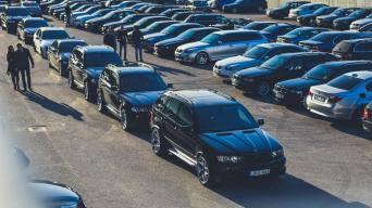 BMW suvažiavimas/V P Motors nuotrauka
