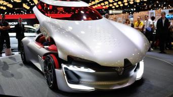 Renault Trezor Concept/Vytauto Pilkausko nuotrauka