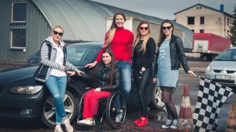 Racing Ladies/Vytauto Pilkausko nuotrauka