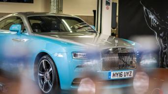 Rolls-Royce serviso atidarymas Vilniuje/Vytauto Pilkausko nuotrauka