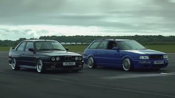BMW M3 E30 ir Audi RS2 Avant