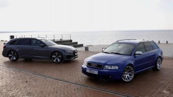 Audi RS4 B5 ir B9