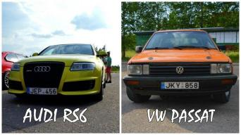 Audi RS6 vs VW Passat