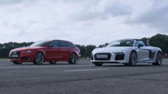 Audi RS6 ir R8