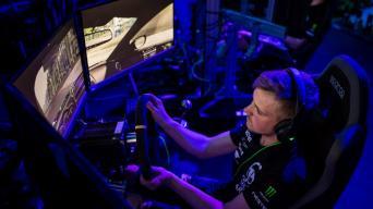 Virtualios žiedinės lenktynės/Aistės Kirsnytės nuotrauka
