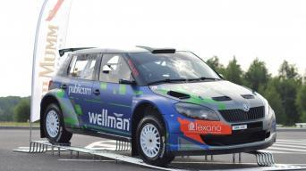 Martynas Samuitis pristatė Škoda Fabia S2000