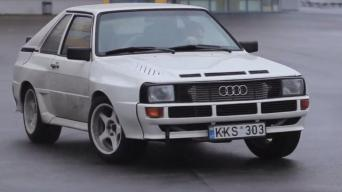 """""""Audi Sport Quattro"""" replika"""