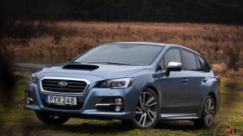 Subaru Levorg/Vytauto Pilkausko nuotrauka