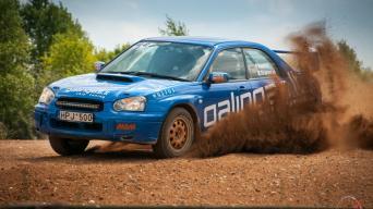 Subaru Gravel 2016/Vytauto Pilkausko nuotrauka